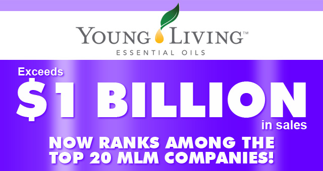 Young Living Exceeds $1 Billion in Sales