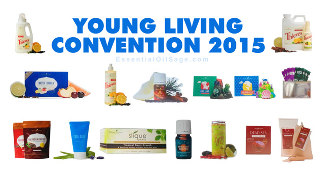 Young Living Convention 2015 New Products