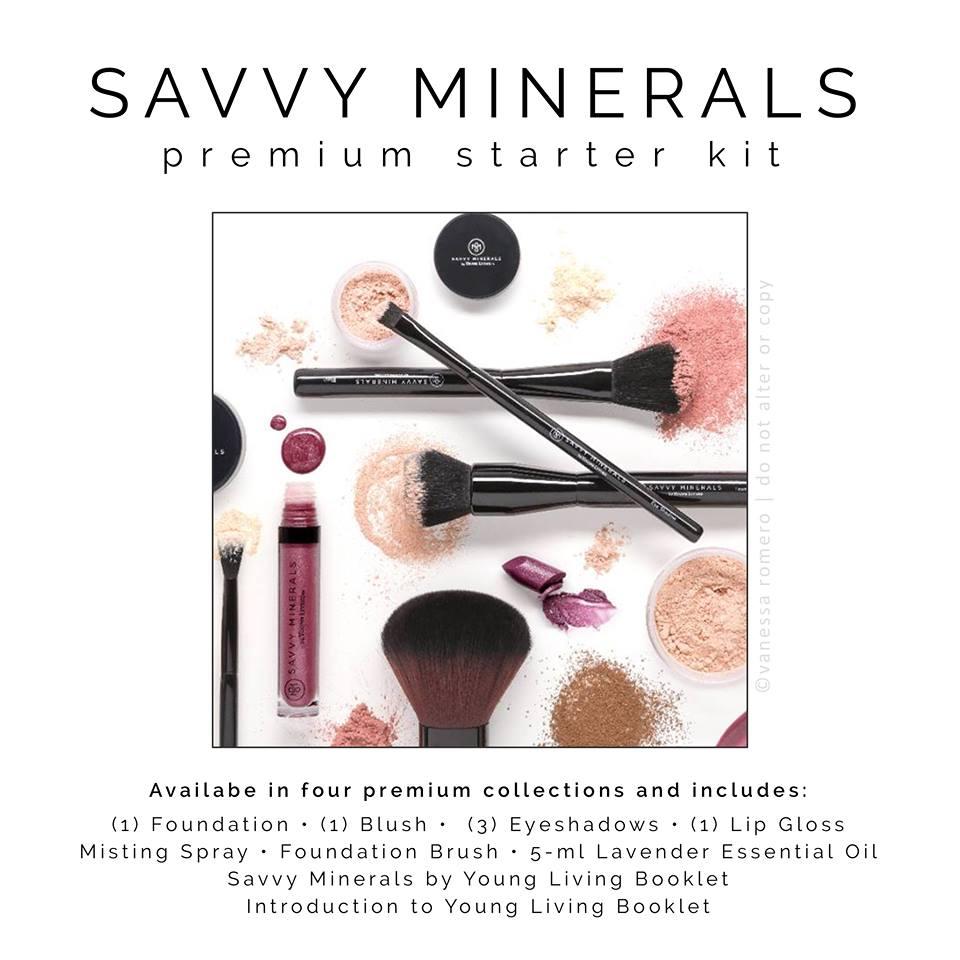 Savvy Mineral Starter Kit Options