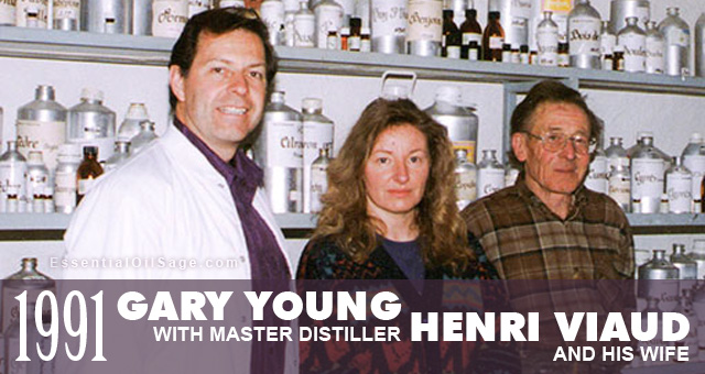 Gary Young meets Master Distiller Henri Viaud