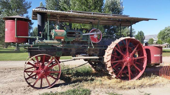 Einkorn boiler tractor
