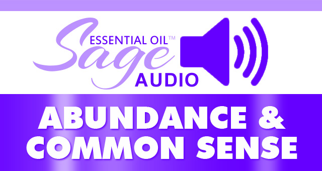 Abundance & Common Sense MP3