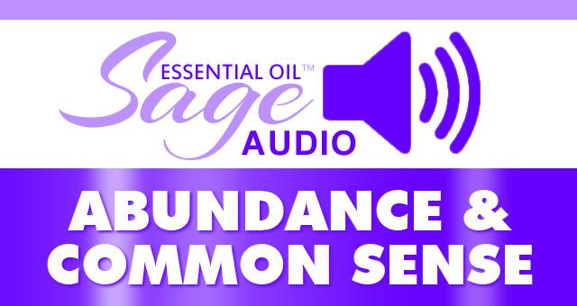 Abundance & Common Sense MP3