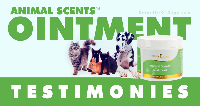Animal Scents Ointment Testimonies