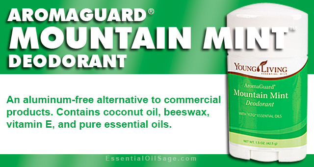 AromaGuard Deodorant Mountain Mint