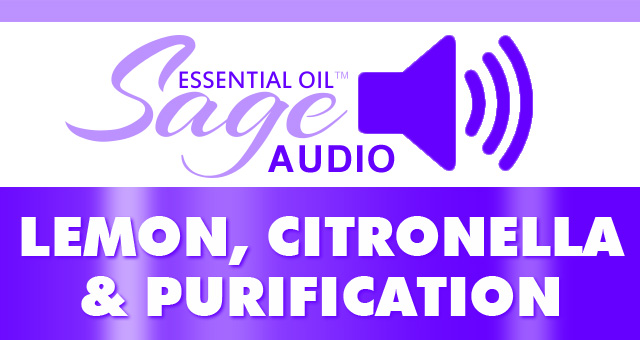Audio: Lemon, Purification, Citronella