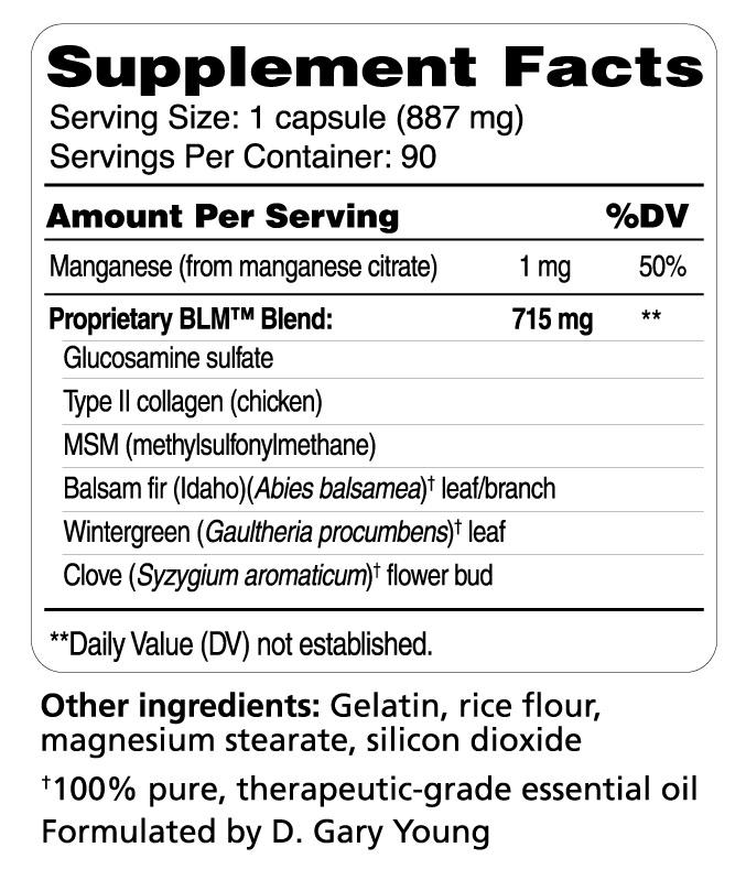 BLM Ingredients