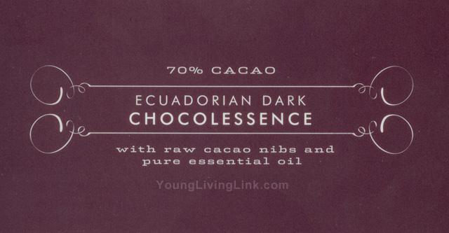 Ecuadorian Dark Chocolessence