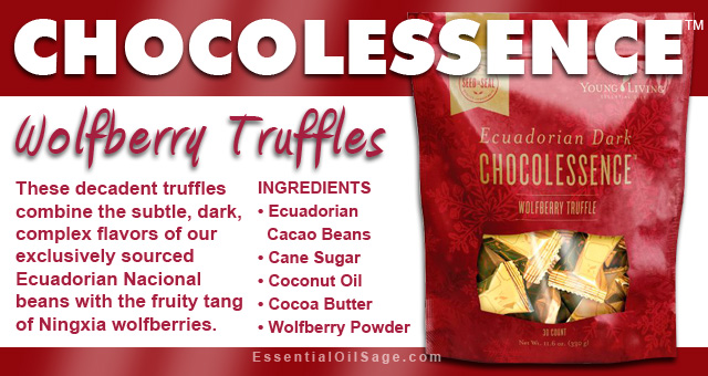Young Living Chocolessence Truffles