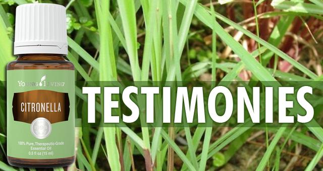 Citronella Testimonies
