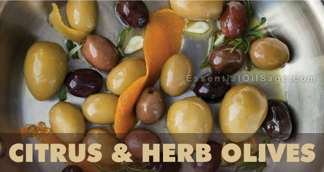 Citrus and Herb Olives Recipe