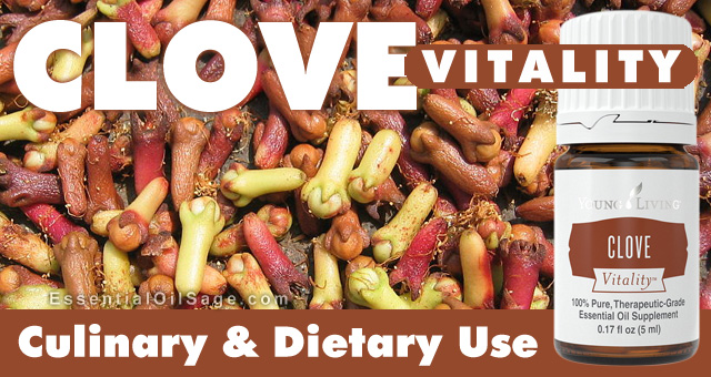 Young Living Clove Vitality Oil