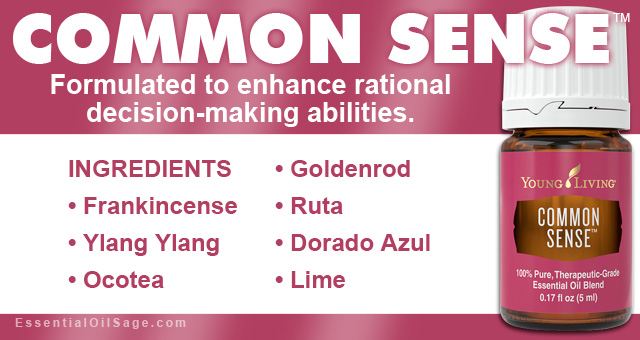 Young Living Common Sense Oil