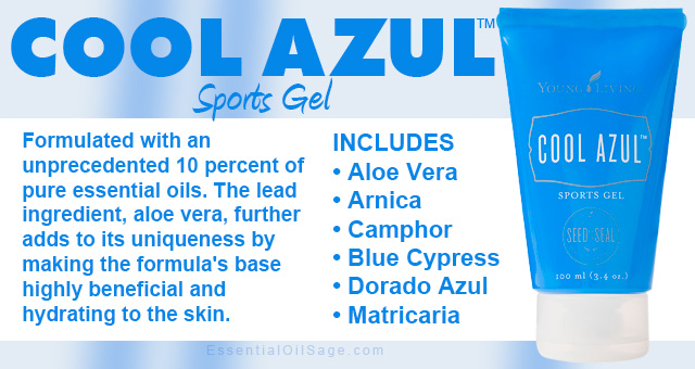 Young Living Cool Azul Sports Gel