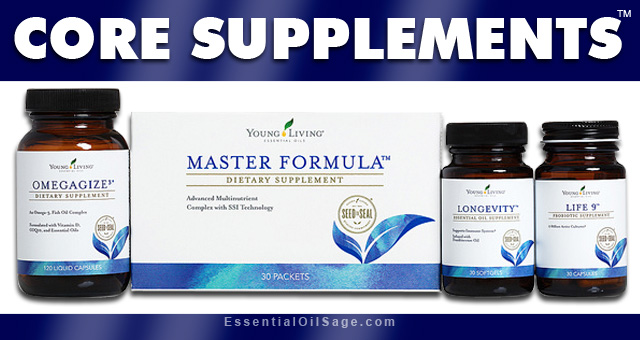 Young Living Core Supplements