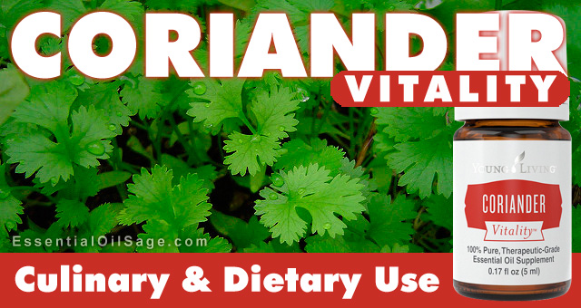 Young Living Coriander Vitality Oil