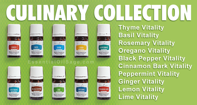 Young Living Essential Oil Culinary Collection