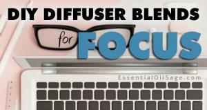 DIY Diffuser Blends for Focus