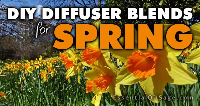 DIY Diffuser Blends for Spring