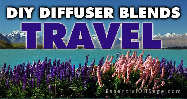 DIY Diffuser Blends - Travel