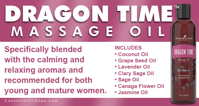 Young Living Dragon Time Massage Oil