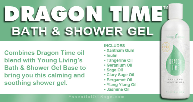 Young Living Dragon Time Shower Gel