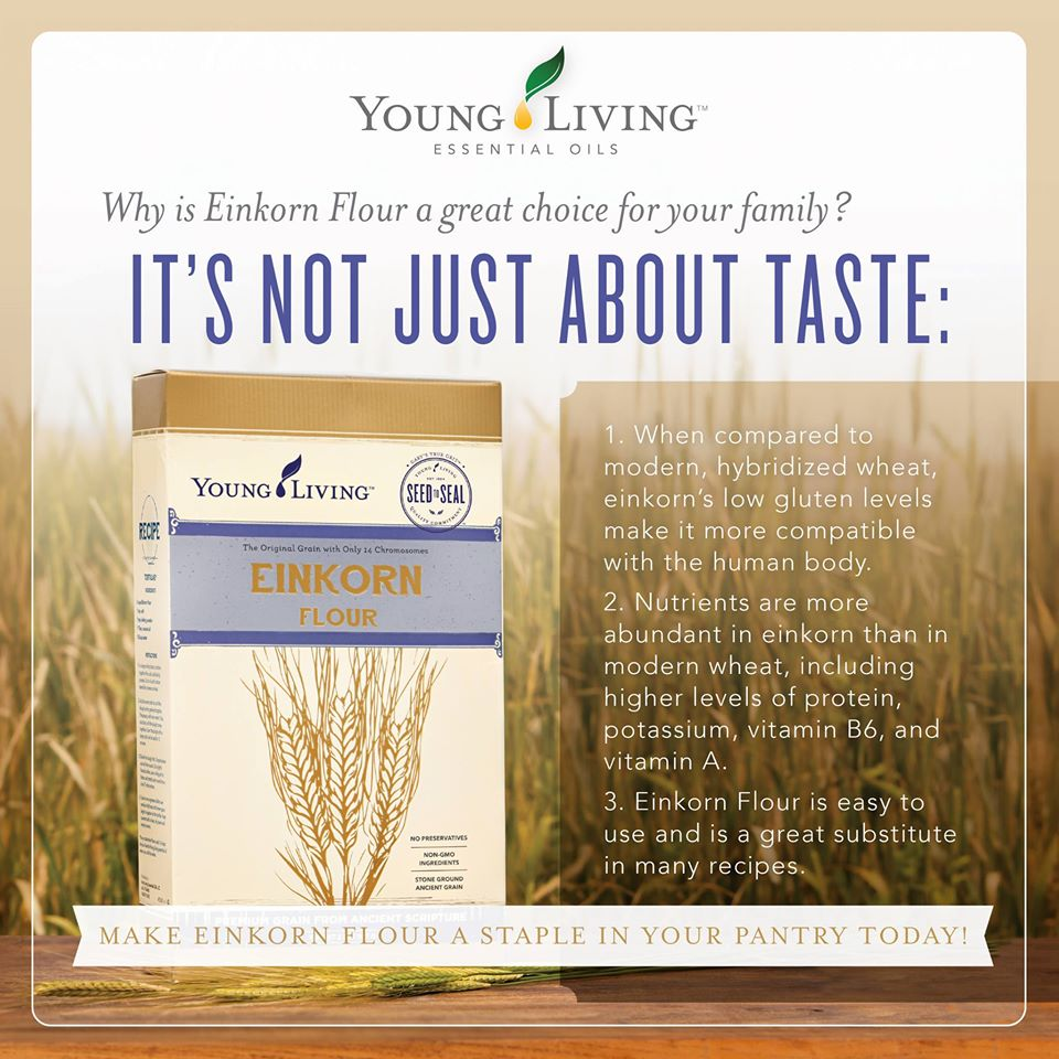 Young Living Einkorn Flour