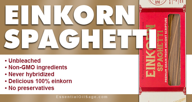 Young Living Einkorn Spaghetti
