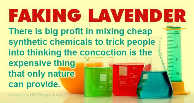 Faking Lavender Oil