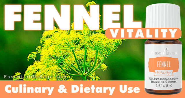 Young Living Fennel Vitality Oil