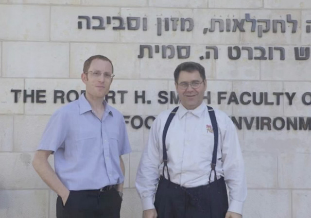 Dr. Arieh Moussaieff in Israel with Marc Schreuder