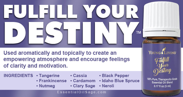 Young Living Fulfill Your Destiny