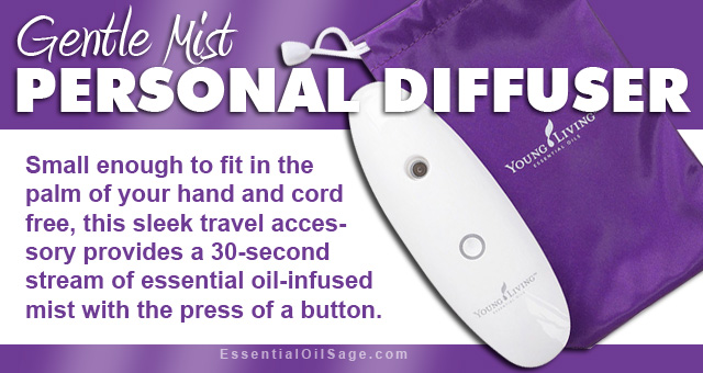 Young Living Gentle Mist Personal Diffuser