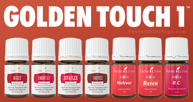 Young Living Golden Touch 1 Kit