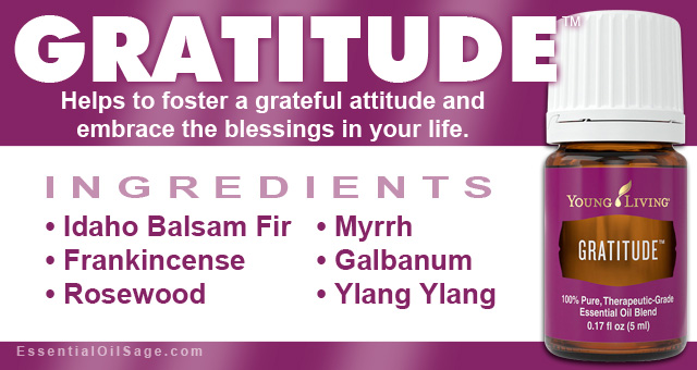 Young Living Gratitude Oil