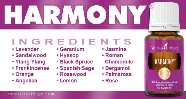 Young Living Harmony Oil
