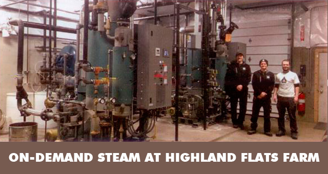 Highland Flats On-Demand Steaming