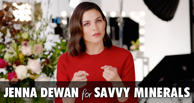 Jenna Dewan for Savvy Minerals Makeup