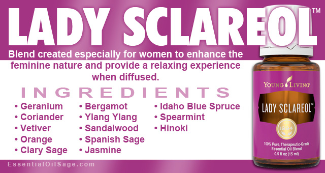 Young Living Lady Sclareol Oil