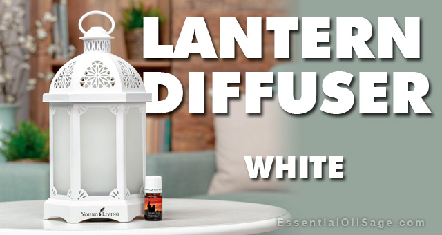 Young Living Lantern Diffuser - White