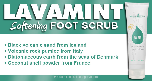 Young Living Lavamint Foot Scrub