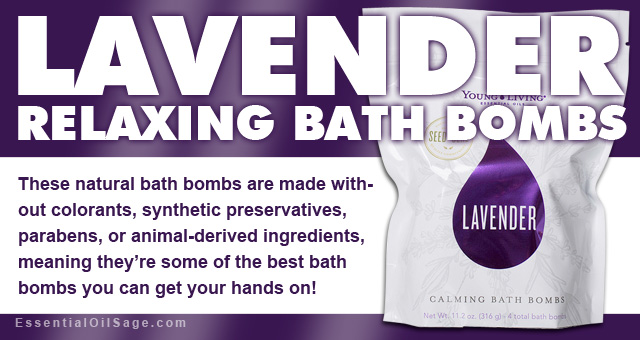Young Living Lavender Bath Bombs