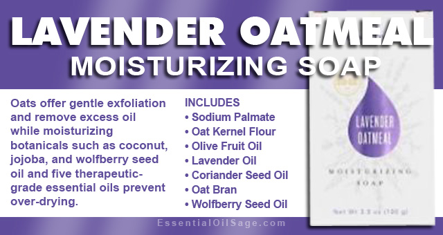 Young Living Lavender Oatmeal Moisturizing Soap
