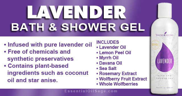 Lavender Bath and Shower Gel