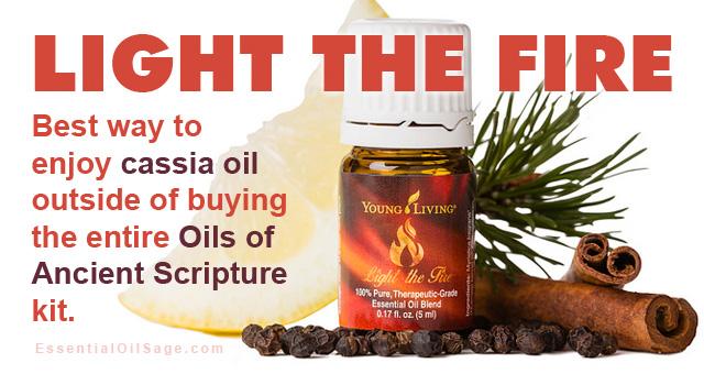 Light the Fire Oil Blend