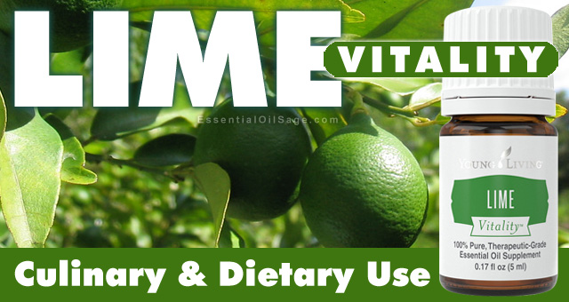 Lime Vitality Essential Oil