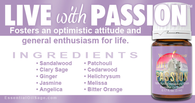 Young Living Live with Passion Oil