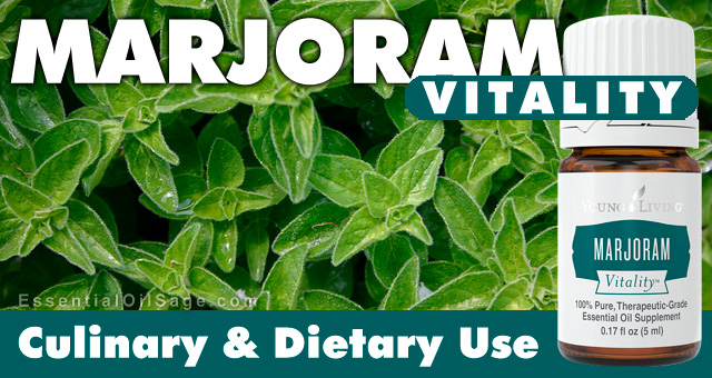 Young Living Marjoram Vitality Oil