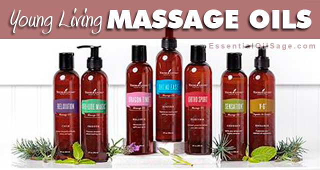 Young Living Massage Oil Guide
