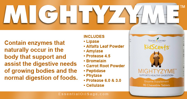 Young Living  Mightyzyme Enzymes